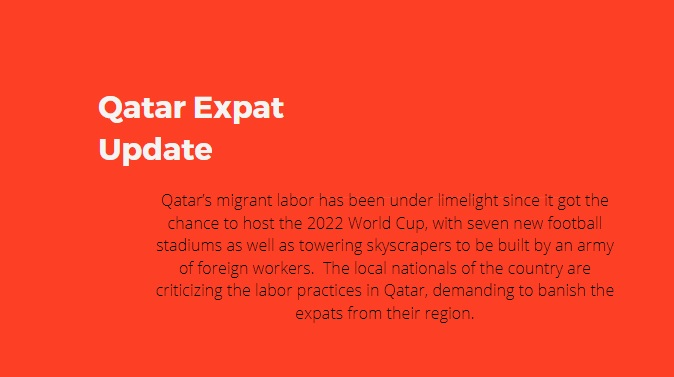 Expat Jobs Lost in Qatar Due to COVID-19