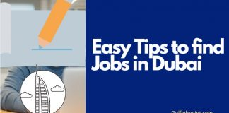 5+Tips to find  job in the Dubai UAE