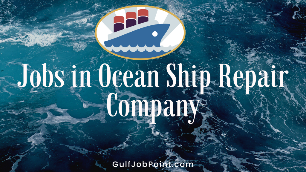 Jobs in Inter Ocean Ship Repair group of Companies