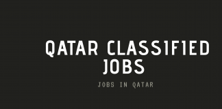 Engineering, Cook, Driver, security and school teacher Classified Jobs in Qatar,