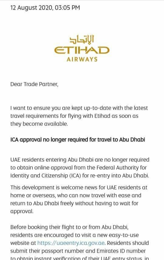 UAE VISA Updated FAQs