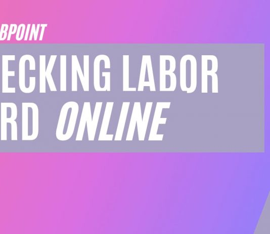 How to check UAE labour card online